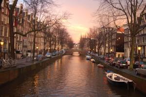 Amsterdam - obytným vozem