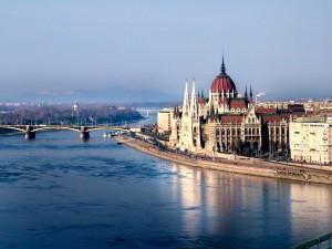 Budapešť - obytným vozem