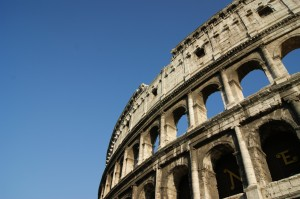 Řím - obytným vozem
