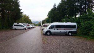 Stellplatz Rakousko
